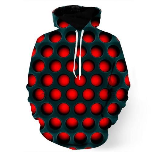 3D Hypnotic Holes Sweatshirt/Hoodie