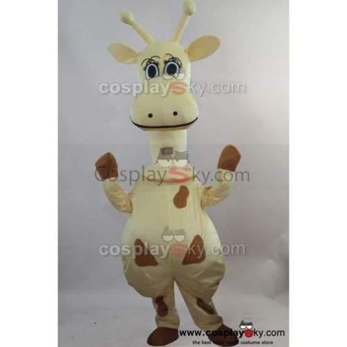 Giraffe Mascot Costume Fancy Dress Outfit