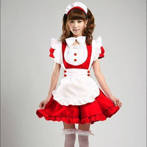 Maid Waitress Costumes - Ms010