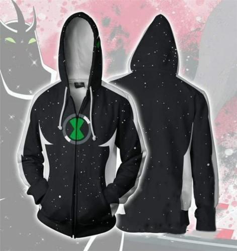 New American Classic Anime Series 3D Sweater Cosplay Anime Hoodie Sportswear