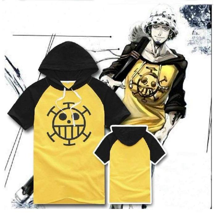 Anime ONE PIECE Trafalgar·Law Cosplay Sweater Hoodie Death Surgeon Thick Winter
