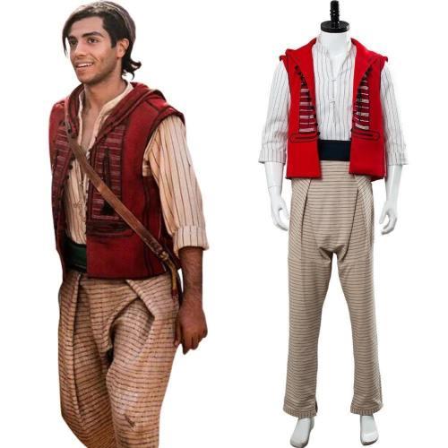 Movie Aladdin Aladdin Outfit Cosplay Costume Adult