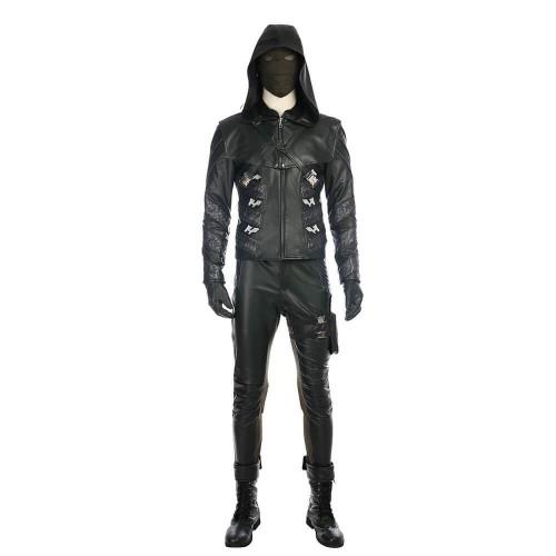 Green Arrow Season 5 Quentin Lance Costume Halloween Party Cosplay Costume