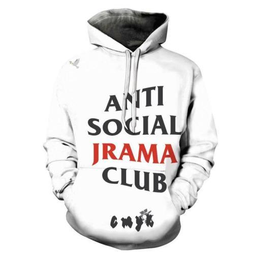 Social Drama Club 3D - Sweatshirt, Hoodie, Pullover