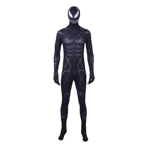 Marval Venom Edward Brock Costume Halloween Party Cosplay Costume Jumpsuit