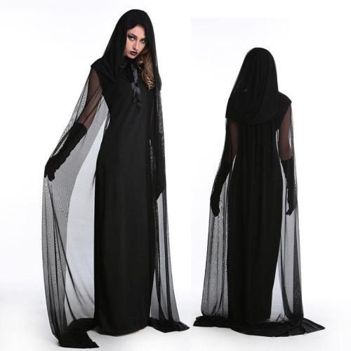Vampire Brides Love Over Death Dark Dress Costume Witch Costume