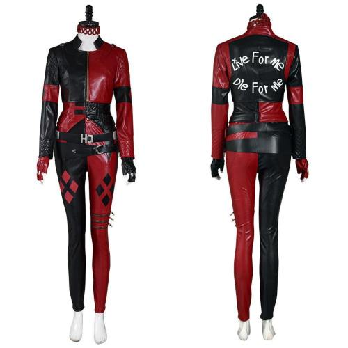 The Suicide Squad () Harleen Quinzel Vest Pants Outfits Halloween Carnival Suit Cosplay Costume