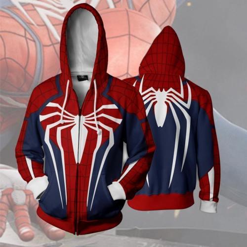 Spider-Man Hoodie - The Avengers Zip Up Hoodie Csos543