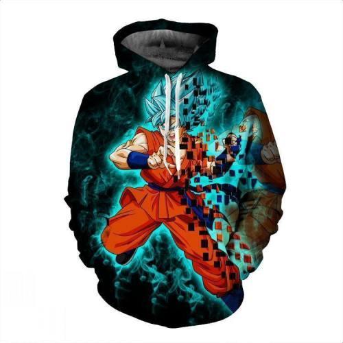 Dragon Ball Z Goku Pullover Hoodie Csos024