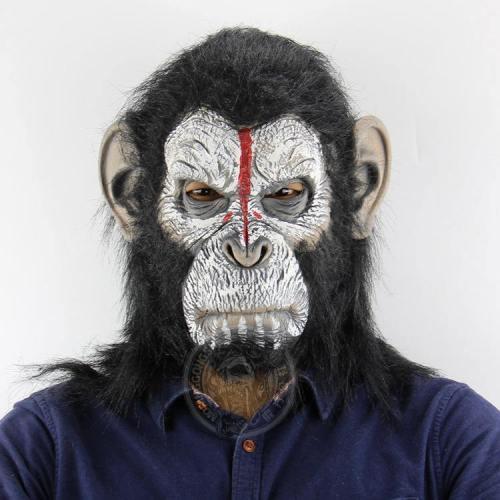 Halloween Party Monkey Mask Apes Latex Masks