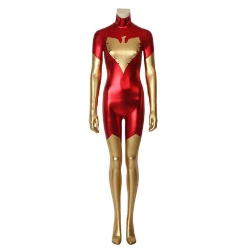 X-Men Dark Phoenix Jumpsuit Costume Cosplay