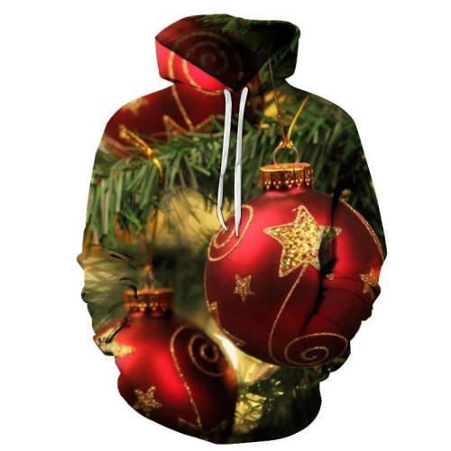 Christmas Tree Ornament Hoodie - Sweatshirt, Hoodie, Pullover