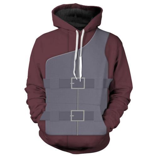Unisex Hoodies Naruto Pullover 3D Print Jacket Sweatshirt