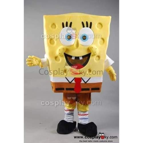 Spongebob Squarepants Mascot Costume Adult Size