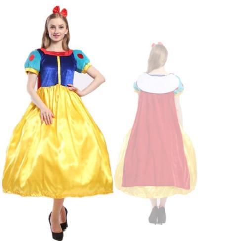 Frozen Queen Elsa Dress Costumes Snow White Dresses Princess Dress For Girls And Women