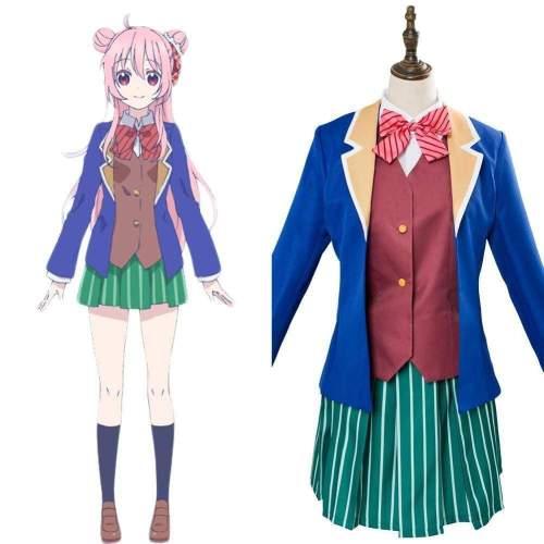 Anime Happy Sugar Life Satou Matsuzaka Cosplay Costume