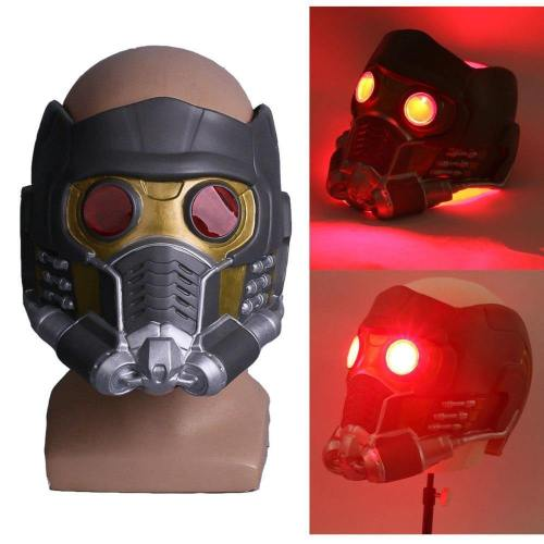 Guardians Of The Galaxy 2  Star Lord Peter Quill Cosplay Mask