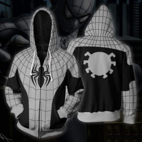 Spider-Man Hoodie - Armed Spiderman Zip Up Hoodieu