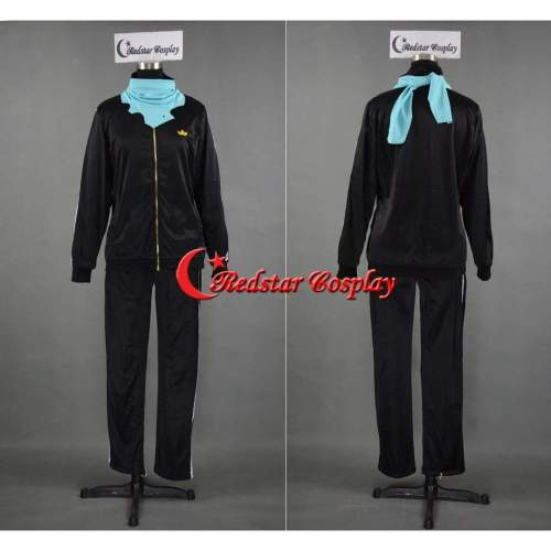 Anime Noragami Yato Cosplay Costume Sports Suit Clothes Pants Scarf Christmas