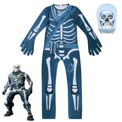 Ghost Face Party Style Christmas Children Costumes