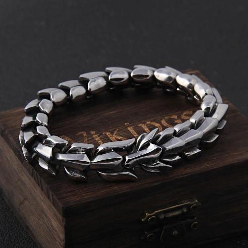 Punk Style Dragon Keel Bracelet