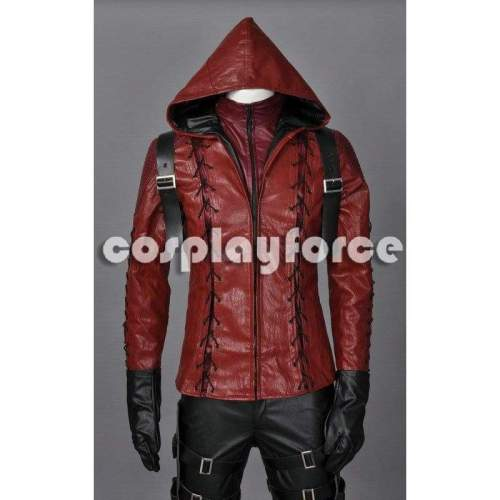 Green Arrow Season3 Arsenal Cosplay Costume Jacket And The Quiver Only