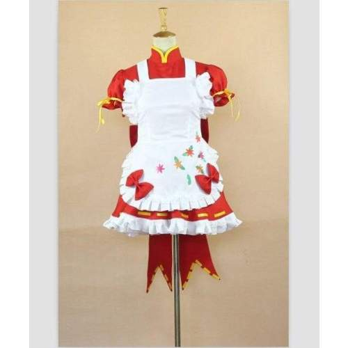 Vocaloid  Hatsune Miku PROJECT DIVA2 Little Red Riding Hood Cosplay Costume