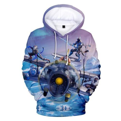 Fortnite Hoodie Season 7  Clothes Sweatshirt