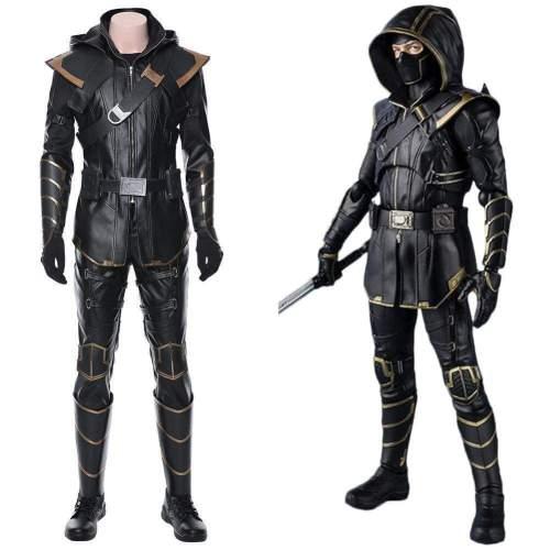 Avengers 4:Endgame Hawkeye Ronin Cosplay Costume