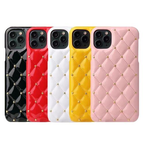Luxury Quilted Jewel Phone Case