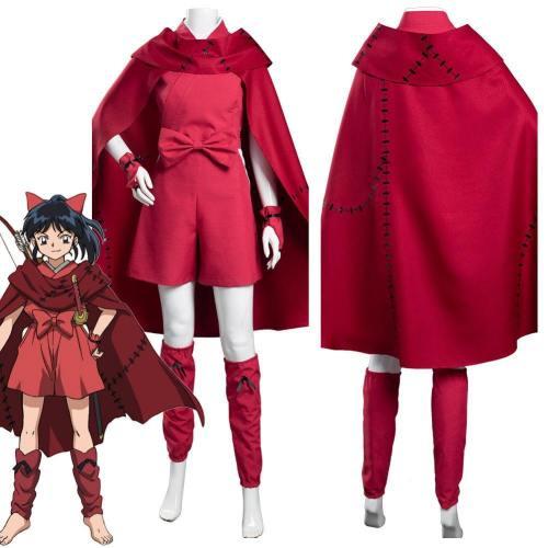 Yashahime: Princess Half-Demon Moroha Cloak Outfits Halloween Carnival Suit Cosplay Costume