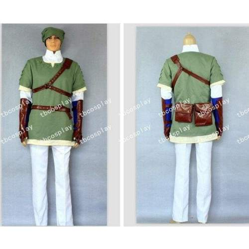 The Legend Of Zelda Cosplay Link Deluxe Costume Any Size