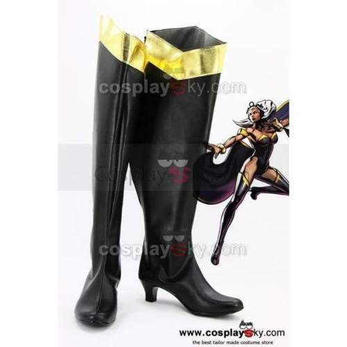 X-Men Storm Cosplay Shoes Boots Custom Made