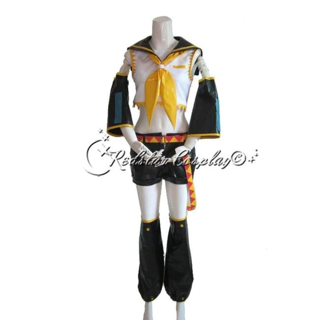 Vocaloid Kagamine Rin or Len Cosplay Costumes - Custom made in Any size