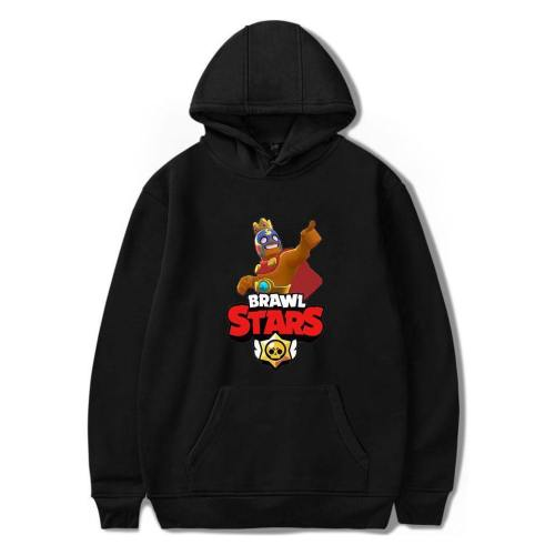 El Primo Print Pullover Hoodie Rare Brawl Stars Hooded Sweatshirt