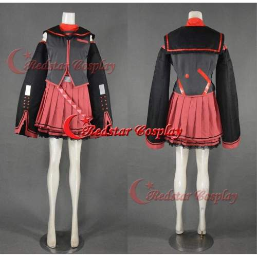 Vocaloid Sukone Tei Cosplay Costume - Costume Made In Any Size
