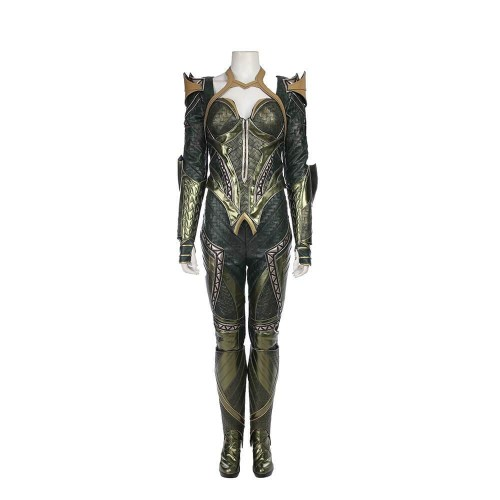Dc Justice League Aquaman Mera Costume Halloween Cosplay Suit (Full Set Custom Made)