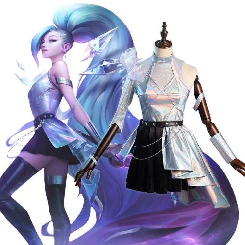 League Of Legends Lol Kda Groups Seraphine Women Dress Outfits Halloween Carnival Suit Cosplay Costume