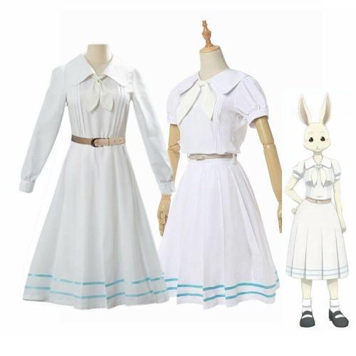 Beastars Haru Cosplay Costume Wig Lolita School Uniform Cute Dress