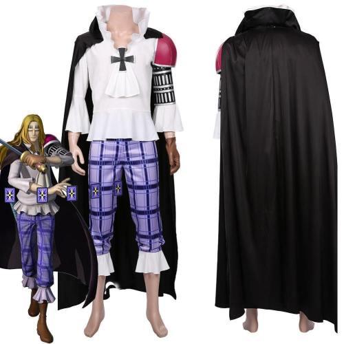 One Piece:Pirate Warriors 4 Basil Hawkins Halloween Carnival Costume Cosplay Costume