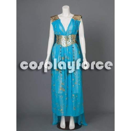 Game of Thrones Daenerys Targaryen  Qarth Cosplay Costume mp002928