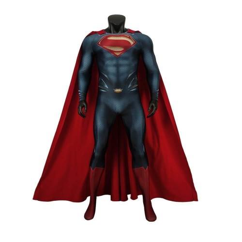Superman Man Of Steel Superman Costume Jumpsuit
