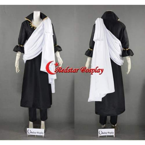 Zeref From Fairy Tail Anime Cosplay Costume Custom In Any Size