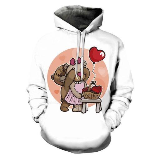 Loving Teddy Bears 3D - Sweatshirt, Hoodie, Pullover