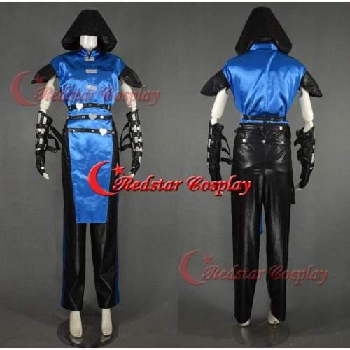 Mortal Kombat Cosplay Ninja Sub Zero Cosplay Costume - Costume Made In Any Size