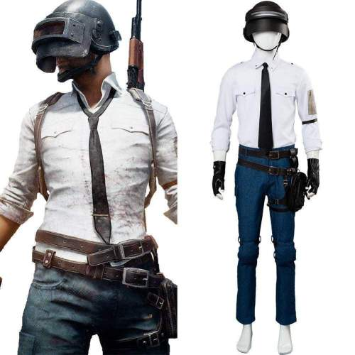 Video Game Pubg Playerunknown'S Battlegrounds Cosplay Costume