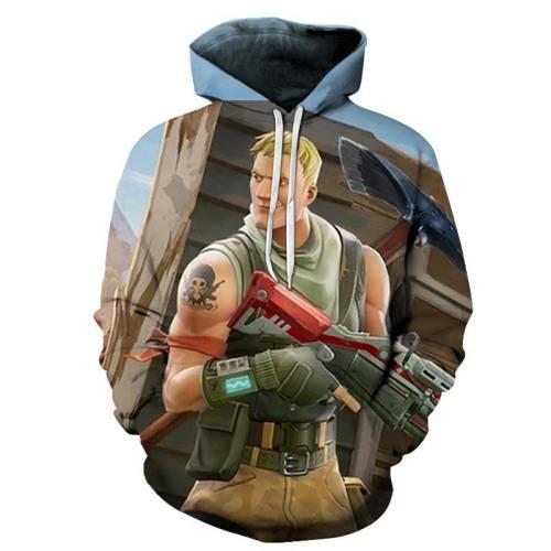 Super Smash Fortnite Guy 3D - Sweatshirt, Hoodie, Pullover
