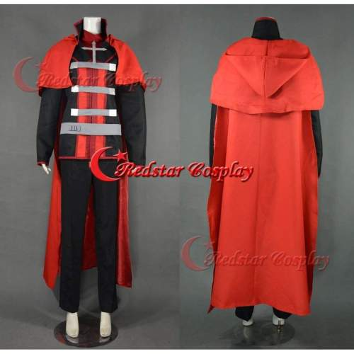 Rwby Red Trailer Red Ruby Rose Cosplay Costume Male Style