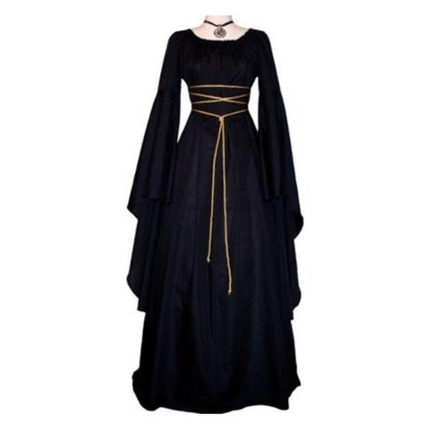 Halloween Costume For Women Cosplay Scary Witch Victorian Carnival Masquerade Long Princess Dress
