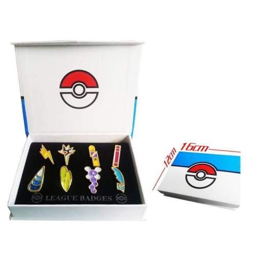 Pokemo Brooch Pin Badge Set